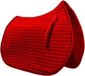 Red pony saddle pad