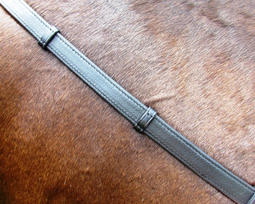 Soft-Touch Leather Rolled Reins