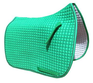Kelly Green Dressage Saddle Pad