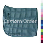 Square Corner (aka: Flag Tail) Olympic Dressage Saddle Pads | PRI Pacific Rim