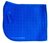 Royal Blue with Black Piping/Trim Olympic Flag-Tail | PRI Dressage Saddle Pad