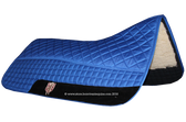 Royal Blue Western Saddle Pad