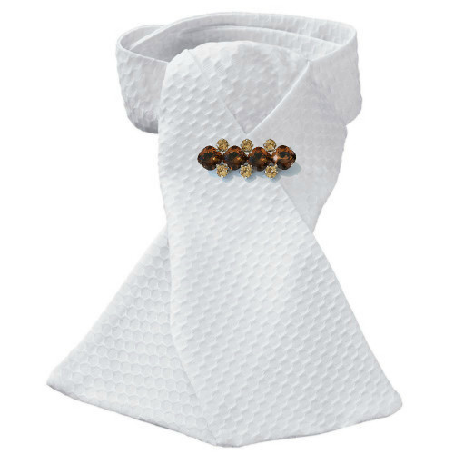 (Note: Stock tie not included)  Bare Naked Bays Dressage Brooch / Stock Pin | Long Arena by Beasties™