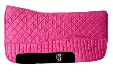 Hot Pink Western Saddle Pad
