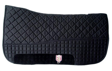 Black Western Saddle Pad
