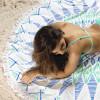 Bambury Gypsy Printed Round Beach Towel - 150cm