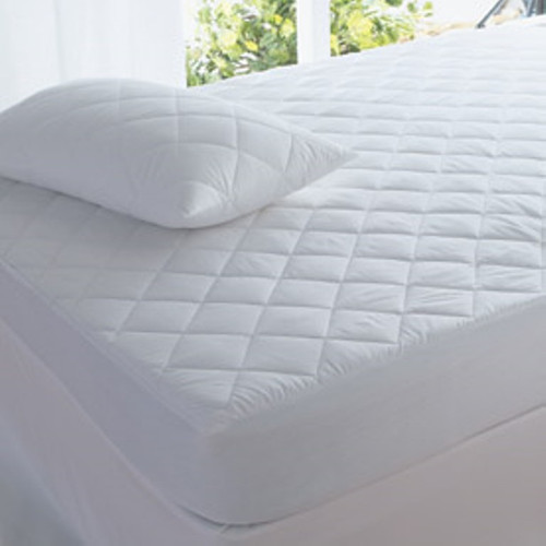 2 x Standard Size Pillow Protectors Cotton Cover Polyester Fill Anti Dust Mite Healthguard Treated