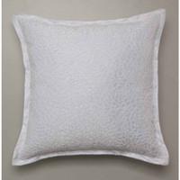 2 x  Xanthia White European Size Pillowcases Private Collection