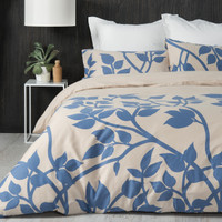 Madison Blue Queen Size Quilt Cover Set