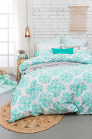 Bambury Ashleigh 3 Pce Queen Size Quilt Cover Set