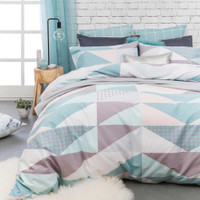 Bambury Ava 3 Pce King Size Quilt Cover Set