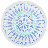 Bambury Gypsy Printed Round Beach Towel - 150cm