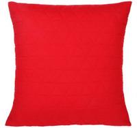 Bianca Vivid Poppy Red European Size Pillowcase