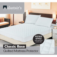 Alastair's Classic Rose Queen Size Mattress Protector