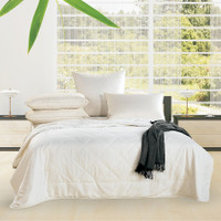 Alastairs Single Size Bamboo Quilt 200 gsm Summer Weight