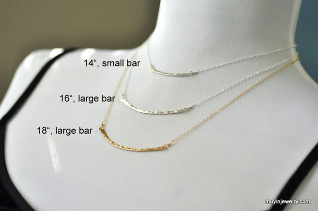 BRIDGE necklace (small)