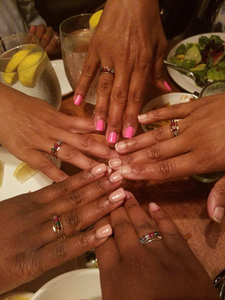 sister ring, mother daughter ring, grandmother ring | muyinjewelry.com