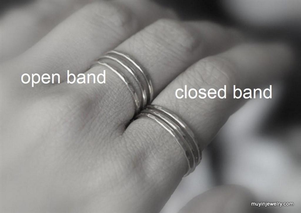 TRINITY adjustable open band