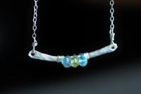 BRIDGE - Design Your Own birthstone / gemstone necklace