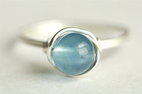 blue fluorite wire wrap ring