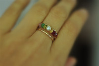 Mother's / Grandmother's Birthstone Ring (5, 6, or 7 stones)