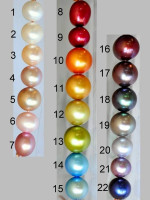 SWEET PEA freshwater pearl necklace - choose from 22 colors