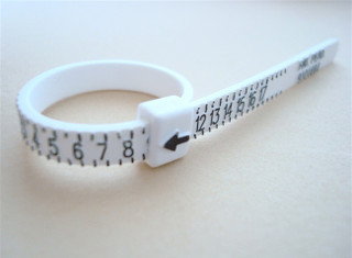 RING SIZER for US size 1 through 17 (multisizer) reuseable