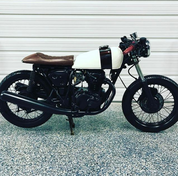 (SOLD)(907) 1976 Honda CB360 Cafe Racer