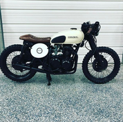 (SOLD)(906) 1974 Honda CB500 Cafe Racer