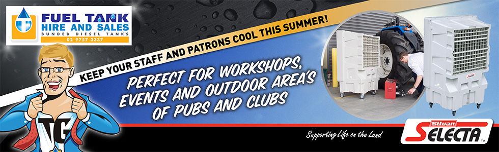 Fuel Tank Hire Keep your partrons cool this summer!