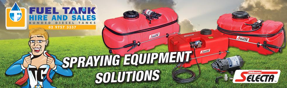 Spraying Equipment Solutions