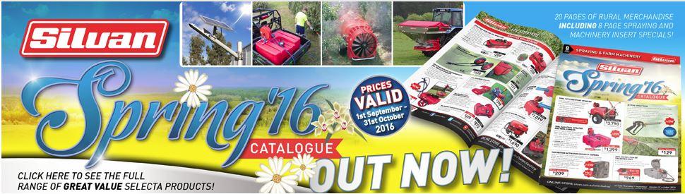 Silvan Spring Catalogue 2016
