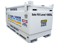 2000 Litre Self Bunded Diesel Tank for Hire