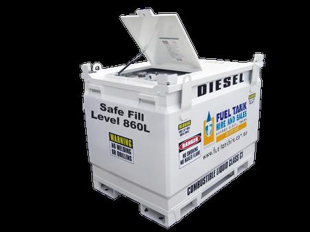 Self Bunded Diesel Fuel Tank 950 Litre