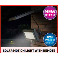 SOLAR LIGHT with remote - JUST ARRIVED