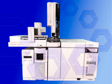 Agilent 7890A GC with 5975C MS and 7693 Autosampler