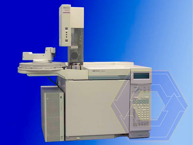 Agilent 6890 GC with FID and Autosampler