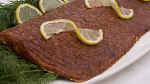 Hungarian Style Smoked Salmon