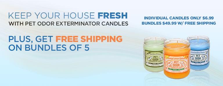 Pet Odor Exterminator Candles