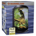 MARINELAND 6gal Pillar Aquarium Kit Desktop Tank -Just Add Water & Fish -MD90563