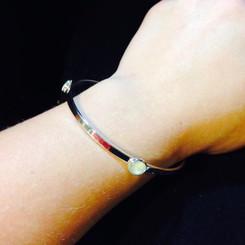 bangle breast milk bracelet.