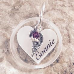 my angel pendant