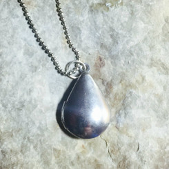 teardrop locket.