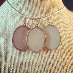 vetri frame breast milk pendant
