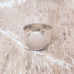 thicker band breast milk ring