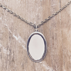 framed oval