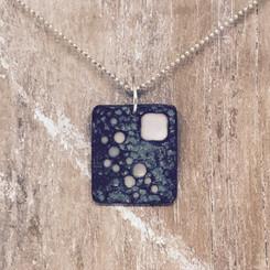 moonscape square pendant