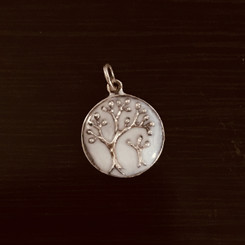 parent and child tree pendant