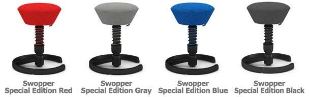 Beau Via Swopper Chair Colors