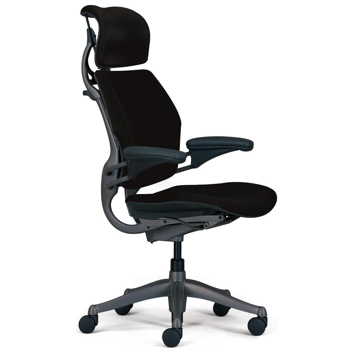 Humanscale freedom chair leather -  Humanscale Freedom Chair Image 1 Loading Zoom
